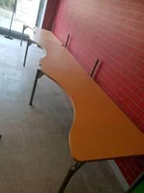 Moduler office tables