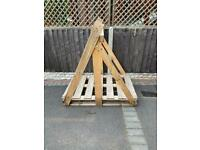 Free wooden pallet (can remove top part before collection of wanted)