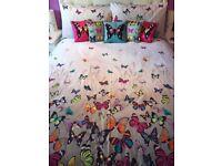 Butterfly Bedding by Debenhams Designer Matthew Williamson