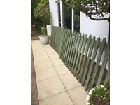 Green Picket Fencing.