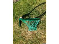 Netball Ring (new), Mitre Attack Netball & Pump