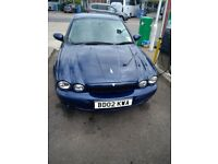Jaguar X Type 2.5 V6 Blue