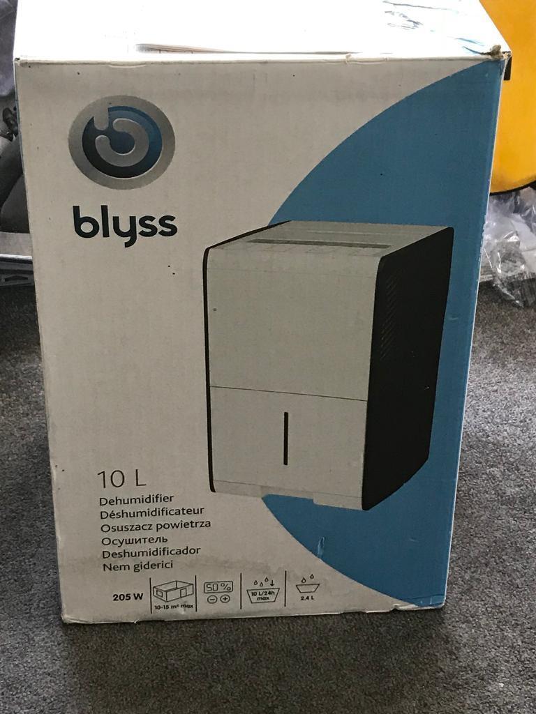 Blyss Dehumidifier User Manual