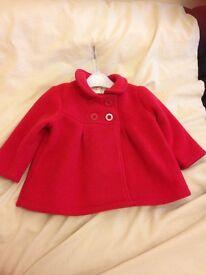 2x 9-12 month jasper Conran coats