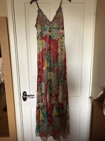 Ladies maxi dress size small fit 8 - 10, very good quality, perfect for a special occasion