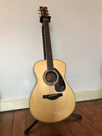 Yamaha LS6 ARE Electro Acoustic Guitar Folk Blues Great condition Includes light weight case