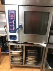 7 grid oven, double fridge, upright fridge freezer