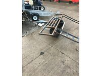 Car tow dollie trailer with ramps