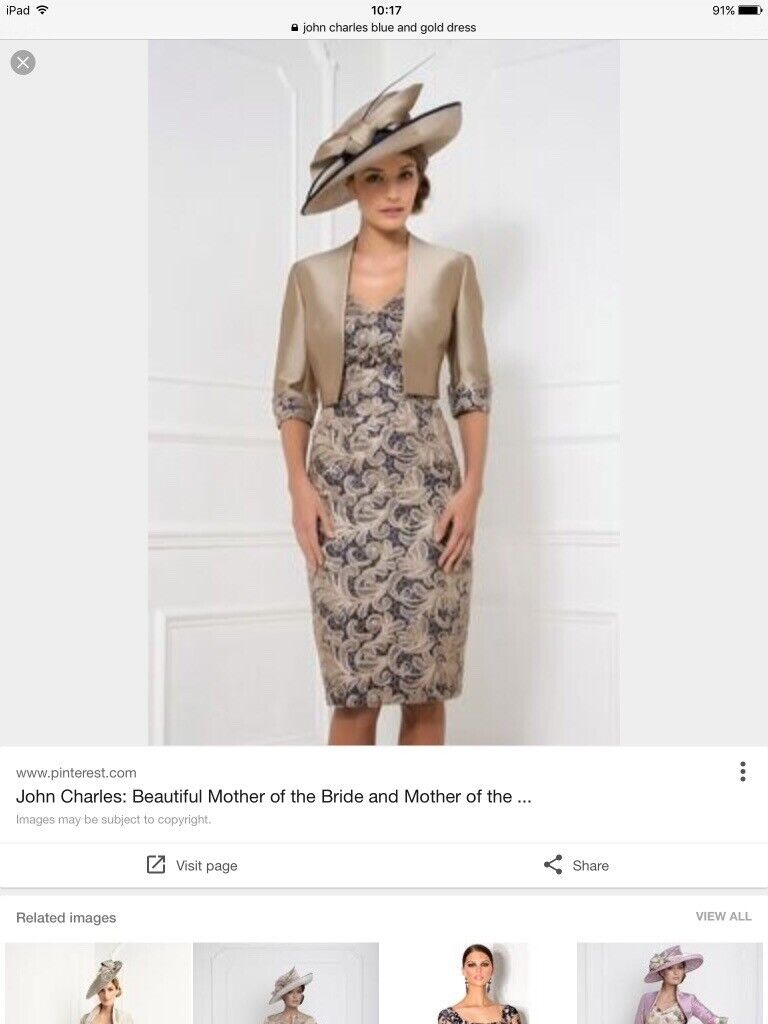 064b63e4f9 STUNNING MOTHER OF THE BRIDE OUTFIT JOHN CHARLES SIZE ...