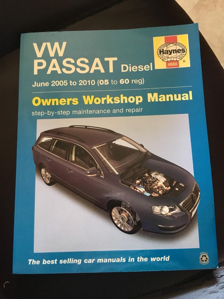 Haynes Manual for B6 VW Passat