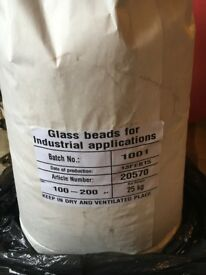 Industrial Glass Beads