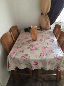 Set of dining table