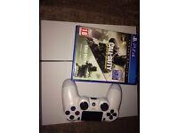 Sony PlayStation 4 500GB 3 games 1 controller