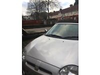MGF for sale, 2 seater, convertible
