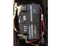 AH (20h) 70 AMP car battery nearly new ideal for petrol and diesel over 2.0 litres