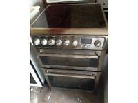 Silver Electric Ceramic Electric cooker 60cm..,