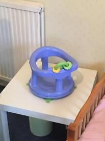 Bath seat and bouncy chair