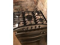 Oven hobb gas sink extractor fan chimney all stainless steel