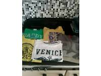 Mens bundle t/shirts ,size XL, used