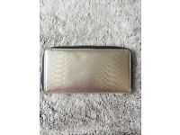Women's metallic purse