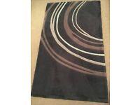 Soft thick short pile rug 90 x 150cm