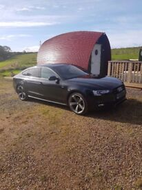 Audi A5 Sportback Black Edition 177ps