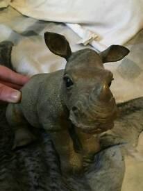 Rhino ornament