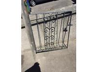 3 cast iron gates