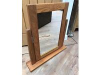 REDUCED Beautiful Solid Wood Dressing Mirror