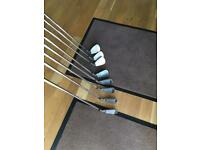 Left Handed Callaway golf Irons 3-pw