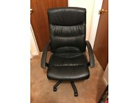 Viking office chair, swivel and height adjustable,