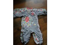 Baby girl clothes most new 0-3 months