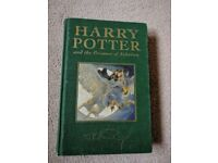 Harry Potter and the Prisoner of Azkaban Deluxe First Edition Hardbound with rare printing errors