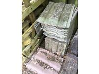 Used roof roof tiles