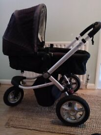 My 3 Mothercare pram/pushchair - suitable from birth to walking