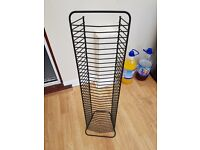 5 WIRE DVD RACKS FOR SALE