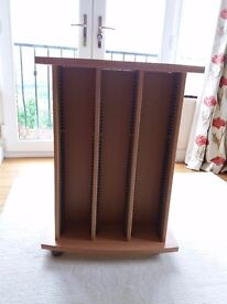 Super Sturdy Attractive CD Storage - takes 150 to 200 CDs