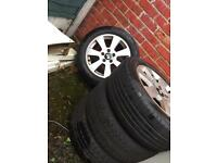 "16 "" alloys , skoda , Audi, VW,"