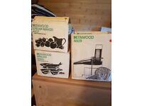 Kenwood Chef Attachments - Cream Maker, Mincer & Slicer/Shredder
