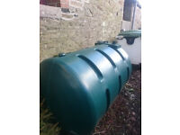 Used oil tank, free to collector
