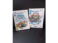 2 Nintendo Wii games NEW