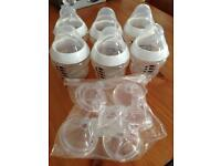 Tommee Tippee 6x 150ml bottles with slow flow