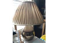 Large lamp & shade