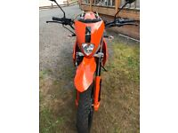 Pulse Adrenaline 250cc as new. 250 miles done. Needs a good home.