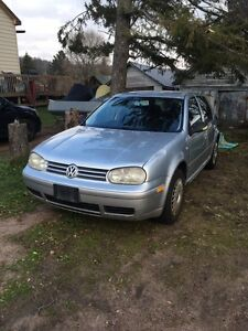 2002 VW Golf TDI for parts