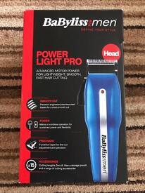 Babyliss for Men Power Light Pro Cordless Advanced Hair Trimmer 7498CU
