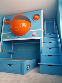 Custom made childrens beds and furniture manufacturer