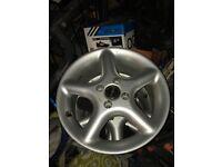 Borbet Alloy Wheels 4x100 fitment.