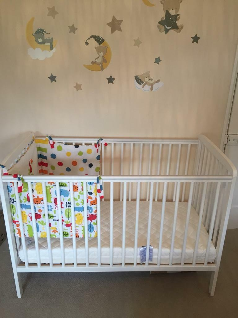 brand new e1f23 d58c6 Baby Cot Babies R Us Cypress cot - 120cm X 60cm With Mattress | in  Winchester, Hampshire | Gumtree