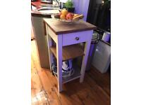 Ikea Stenstorp Kitchen Island Butchers Block Trolley